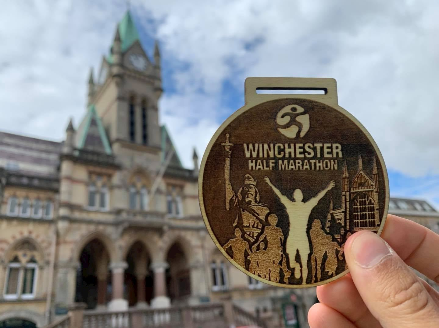 winchester half marathon virtual run