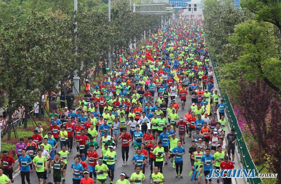 yangzhou jianzhen international half marathon