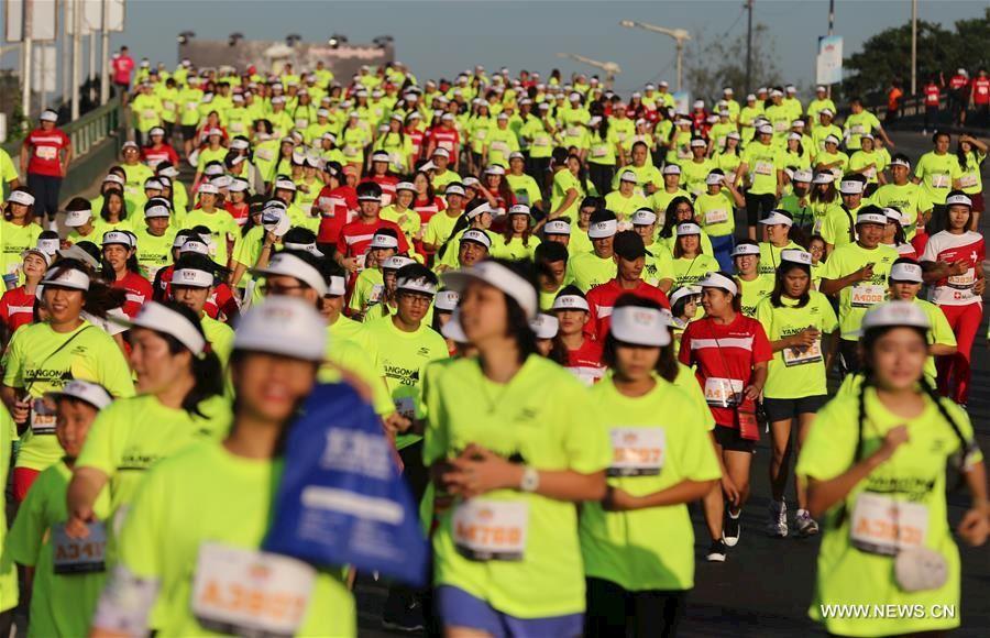 Alles over de Yoma Yangon International Marathon en hoe jij er aan mee kunt doen