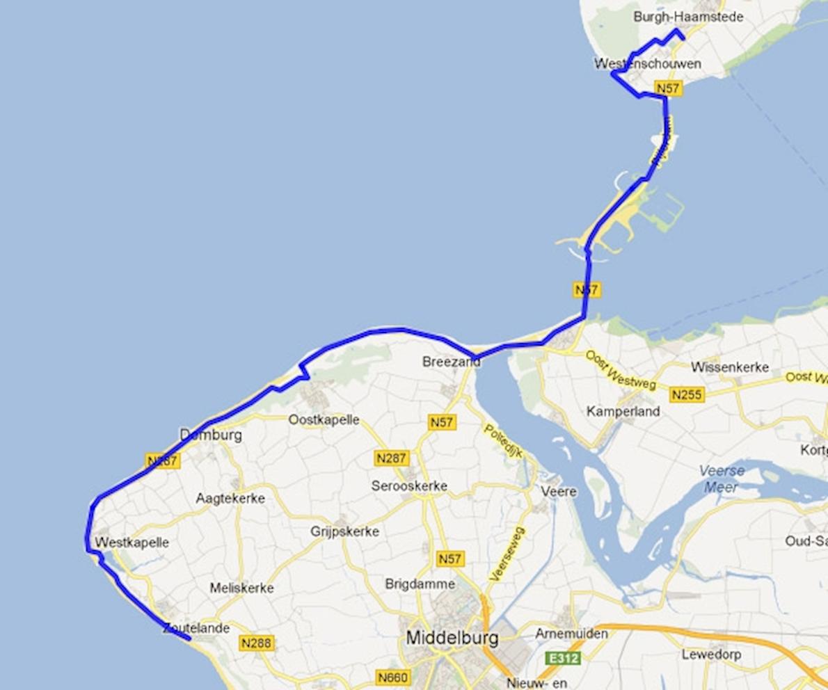 Zeeland Coastal Marathon Oct 13 2018 Worlds Marathons